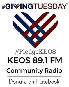 GivingTuesday Pledge KEOS BCSTX